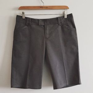 Banana Republic Gray Bermuda Shorts